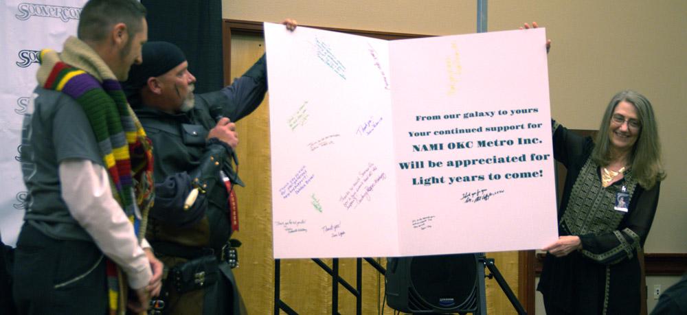 NAMI OKC Presents Thank You Card